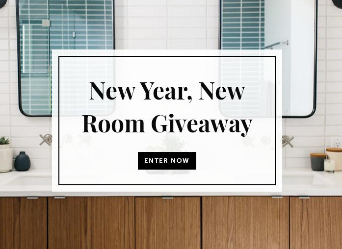 FireclayTile New Year, New Room Giveaway