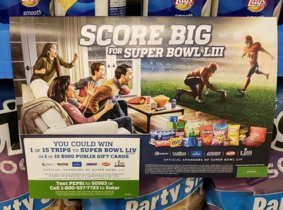 Pepsi-Cola Publix Super Bowl 2019 Sweepstakes