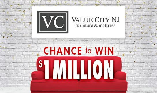 Value City Furniture $1,000,000 Contest