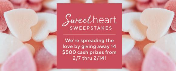 QVC Sweetheart Sweepstakes