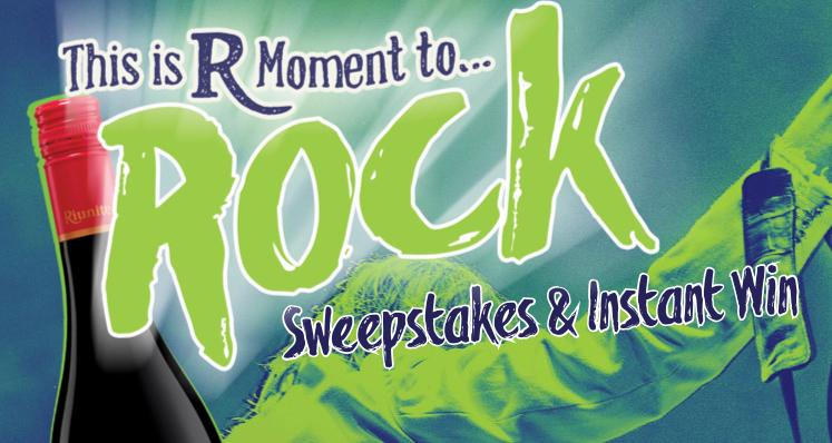 Riunite R Moment To Rock Instant Win Sweepstakes