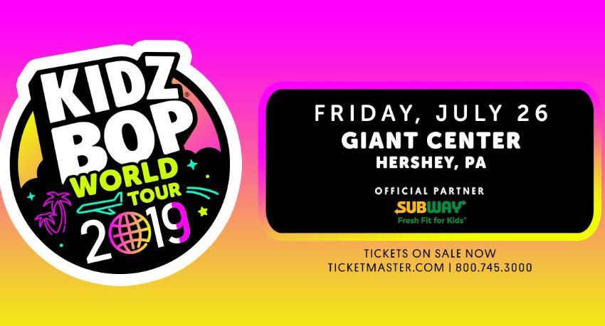 Kidz Bop Live Nation Sweepstakes - Enter For Chance To Win Tickets