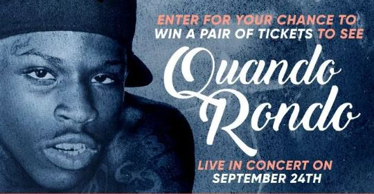 Quando Rondo Online Contest - Enter For Chance To Win A Pair