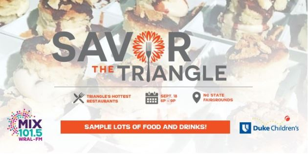 2019 Savor The Triangle Ticket Sweepstakes - Enter To Win Tickets