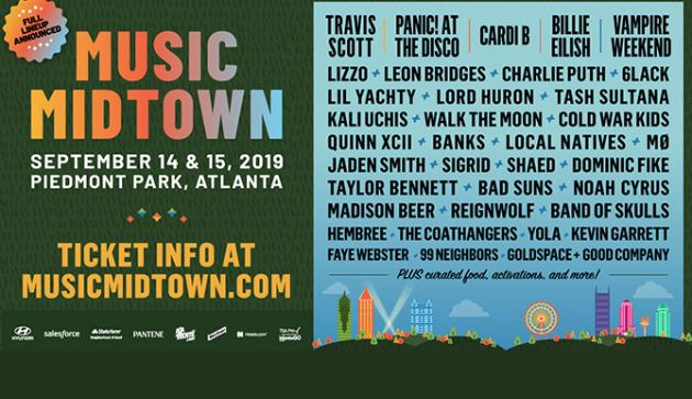 Music Midtown Online Sweepstakes - Enter To Win Two Tickets