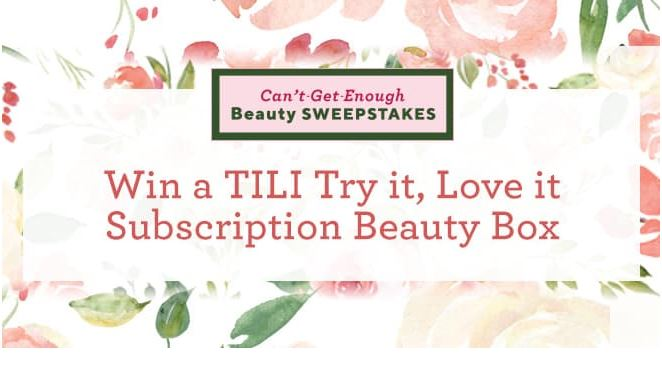 QVC Cant Get Enough Beauty Sweepstakes