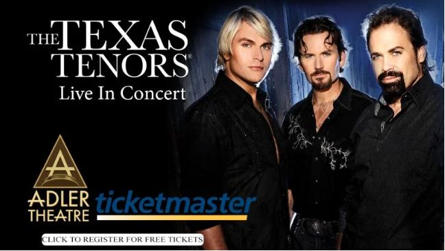 A Night On The Town With The Texas Tenors Sweepstakes